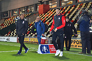 Middlesbrough players arriving at Rodney Parade before the The FA Cup match between Newport County and Middlesbrough at Rodney Parade, Newport, Wales on 5 February 2019.
