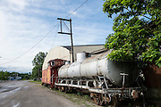 Santa Fe Railroad Depot in Shawnee.