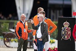 Houtzager Marc, NED, Schuttert Frank, NED, Lansink Jos, BEL, Ehrens Rob, NED<br /> Longines FEI Jumping Nations Cup™ Final<br /> Barcelona 20128<br /> © Hippo Foto - Dirk Caremans<br /> 07/10/2018