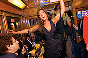 Every night during the city festival  in June, Fado, now World Heritage, can be heard in live concerts during the trips  of Lisbon's nº28 yellow tram, through the central, most historic region of the city.