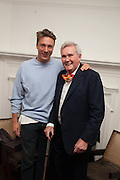 CYPRIEN GAILLARD; OWEN LUDER, Opening of Morris Lewis: Cyprien Gaillard. From Wings to Fins, Sprüth Magers London Grafton St. London. Afterwards dinner at Simpson's-in-the-Strand hosted by Monika Spruth and Philomene Magers.