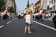 Belfast Orange Order Parade 12/07/2013