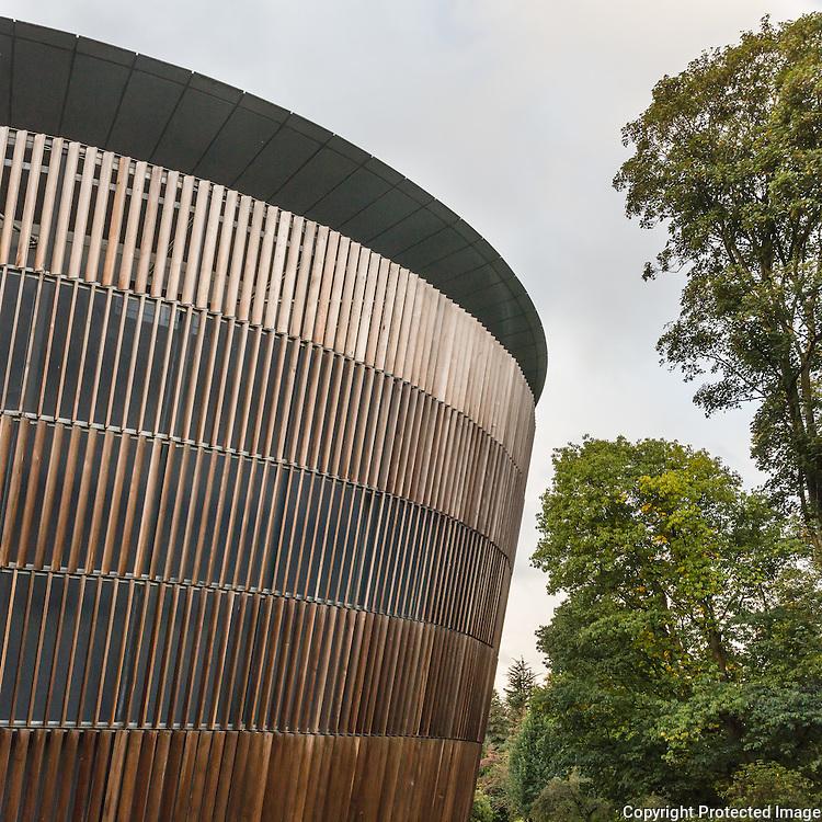Royal Welsh College of Music & Drama, Cardiff. Architect: BFLS.