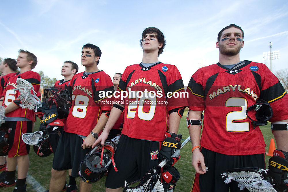 01 March 2008: Maryland Terrapins men's lacrosse in a 15-7 loss to the Duke Blue Devils at Koskinen Stadium in Durham, NC