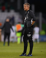 18 July 2019; SK Brann manager Lars Arne Nilsen following the UEFA Europa League First Qualifying Round 2nd Leg match between Shamrock Rovers and SK Brann at Tallaght Stadium in Dublin. Photo by Eóin Noonan/Sportsfile