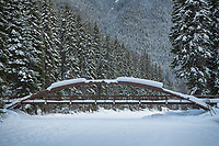 Lightning Lakes Bridge, Manning Provincial Park British Columbia.