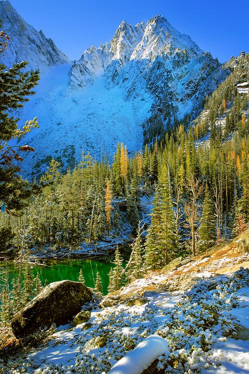 Winter at Colchuck Lake