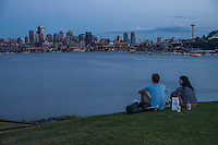 View from Gas Works Park