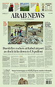 August 31, 2021 - ASIA-PACIFIC: Front-page: Today's Newspapers In Asia-Pacific