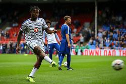 Michy Batshuayi of Chelsea warms up - Mandatory by-line: Jason Brown/JMP - 14/10/2017 - FOOTBALL - Selhurst Park - London, England - Crystal Palace v Chelsea - Premier League