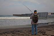 """Tijuana 2015.<br /> A mexican fishing in Tijuana, he has the luck to have a working visa for the US, but he prefer to live in Mexico.<br /> <br /> Un messicano pesca di domenica. Uno di quelli che vive a Tijuana ma ha la """"fortuna"""" di avere un visto e lavorare a San Diego."""