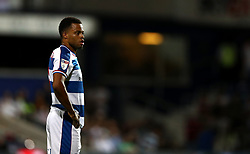 """Queens Park Rangers' Jordan Cousins during the Sky Bet Championship match at Loftus Road, London. PRESS ASSOCIATION Photo. Picture date: Tuesday August 21, 2018. See PA story SOCCER QPR. Photo credit should read: John Walton/PA Wire. RESTRICTIONS: EDITORIAL USE ONLY No use with unauthorised audio, video, data, fixture lists, club/league logos or """"live"""" services. Online in-match use limited to 120 images, no video emulation. No use in betting, games or single club/league/player publications."""