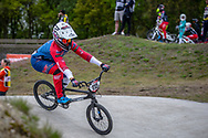 #115 (SMITH Jessie) NZL during practice at Round 3 of the 2019 UCI BMX Supercross World Cup in Papendal, The Netherlands