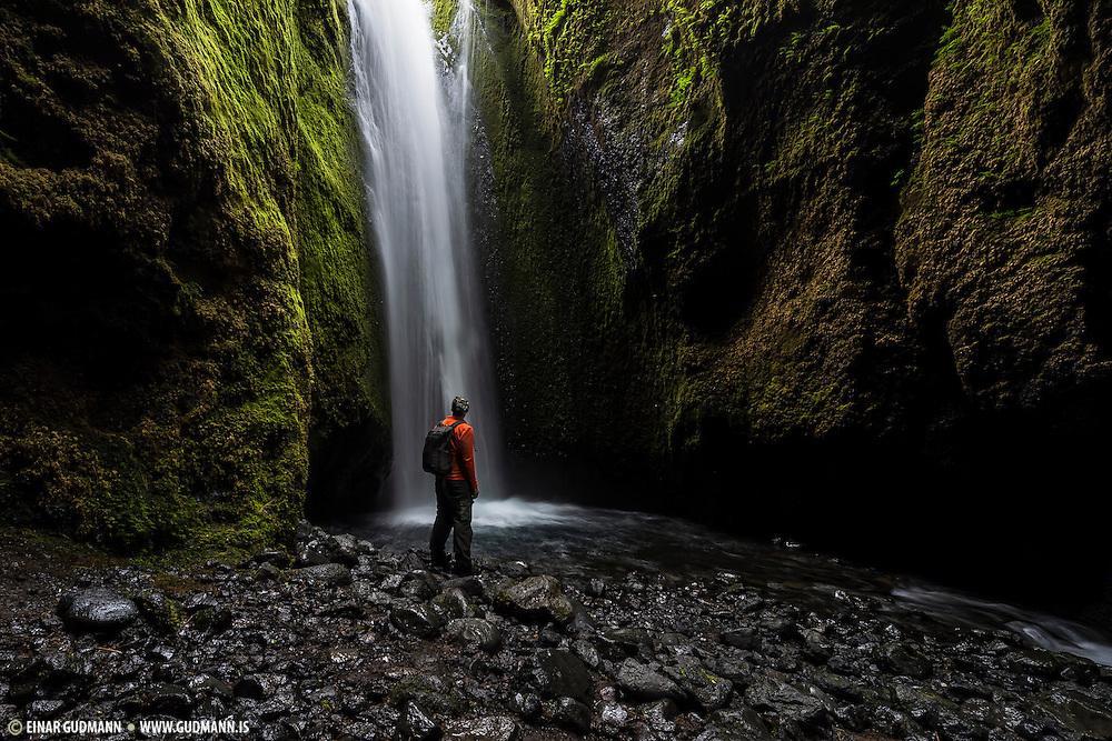 Nauthúsagil, the well hidden secret near Þórsmörk.