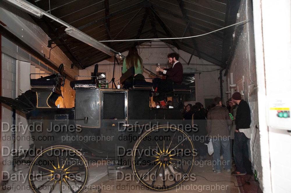 PLASTER OF PARIS, Opening of Statues Die Too.- Group exhibtion of Gabriele Beveridge, Niamh Riordan, Lise Hoveson, Rose O'Gallivan, Poppy Jones. The Garage. North Terrace, South Kensington. London. 16 November 2009.