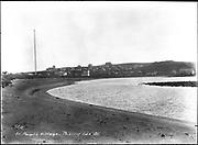 "9707-K200. written on original negative: ""St. Paul's village. Prebilof Is, Alaska. CLA""  St. Pauls Island. Pribilof Group. July 11, 1919"