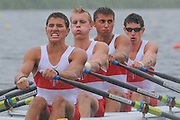 Eton. Great Britain. CAN JM4X, FISA Junior  World Rowing Championships. Dorney Lake, Nr Windsor. Thursday, 04/08/2011 [Mandatory credit: Intersport Images]