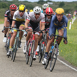 25-06-2016: Wielrennen: NK weg Profs: Ouddorp<br />OUDDORP (NED) wielrennen  <br />Jetse Bol, Koen de Kort, Boy van Poppel, Mike Teunissen, Ramon Sinkeldam