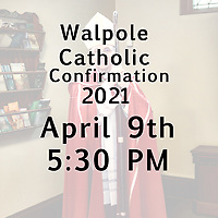 St Mary Confirmation 04-09-21 530 PM