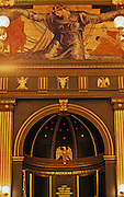 "PA Capitol, Senate Chamber, Violet Oakley painting, ""Unity,"" Harrisburg, PA"