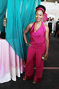 Bridgehampton, New York, NY-July 15: Actress Simone Missick attends The 2017 RUSH Philanthropic's  Art For Life held at Fairview Farms on July 15, 2017 in Bridgehampton, New York. (Photo by Terrence Jennings/terrencejennings.com)