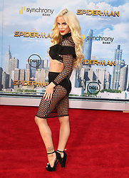 Spider-Man: Homecoming Premiere at The TCL Chinese Theatre in Hollywood, California. 28 Jun 2017 Pictured: Gigi Gorgeous. Photo credit: River / MEGA TheMegaAgency.com +1 888 505 6342