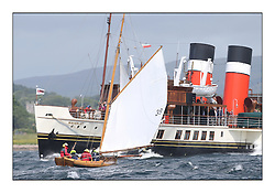 Day five of the Fife Regatta, Race from Portavadie on Loch Fyne to Largs. <br /> <br /> Ayrshire Lass, Paul Goss / Theo Rye, GBR, Gaff Cutter, Wm Fife 2nd, 1887<br /> * The William Fife designed Yachts return to the birthplace of these historic yachts, the Scotland's pre-eminent yacht designer and builder for the 4th Fife Regatta on the Clyde 28th June–5th July 2013<br /> <br /> More information is available on the website: www.fiferegatta.com