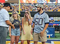Sep 11, 2021; Morgantown, West Virginia, USA;  at Mountaineer Field at Milan Puskar Stadium. Mandatory Credit: Ben Queen-USA TODAY Sports