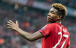 03.05.2016, Allianz Arena, Muenchen, GER, UEFA CL, FC Bayern Muenchen vs Atletico Madrid, Halbfinale, Rueckspiel, im Bild David Alaba (FC Bayern Muenchen) // David Alaba (FC Bayern Muenchen) during the UEFA Champions League semi Final, 2nd Leg match between FC Bayern Munich and Atletico Madrid at the Allianz Arena in Muenchen, Germany on 2016/05/03. EXPA Pictures © 2016, PhotoCredit: EXPA/ JFK