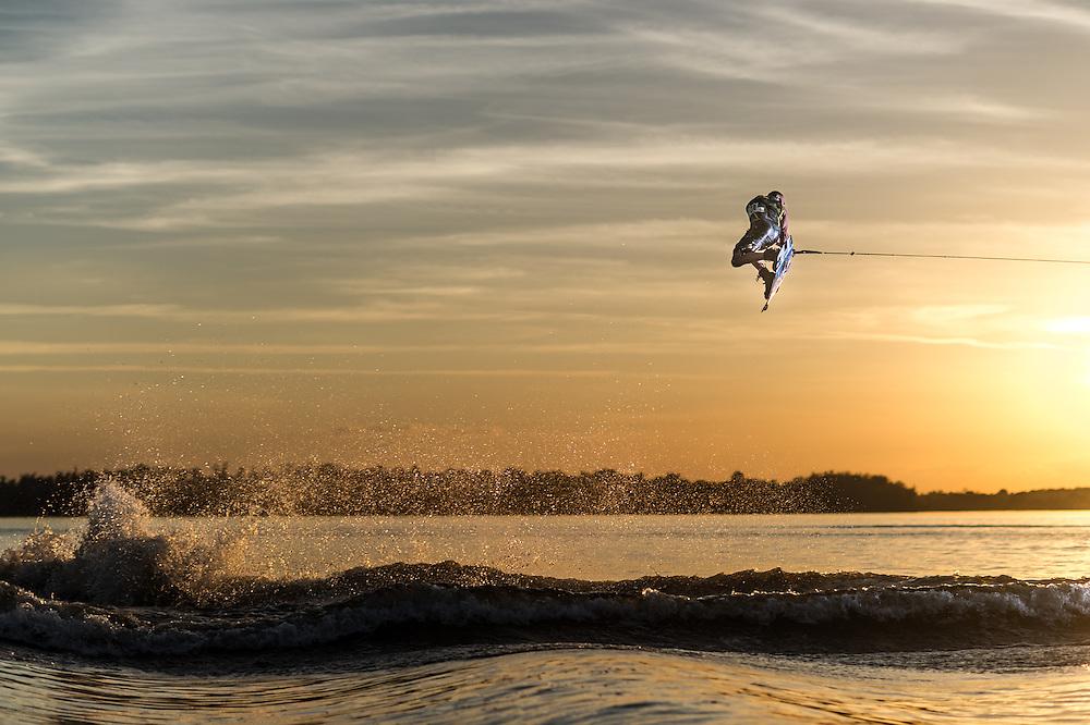 Rusty Malinoski shot for Transworld Wakeboarding in Clermont, Florida.