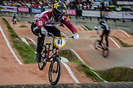 #81 (STROMBERGS Maris) LAT at the 2016 UCI BMX World Championships in Medellin, Colombia.