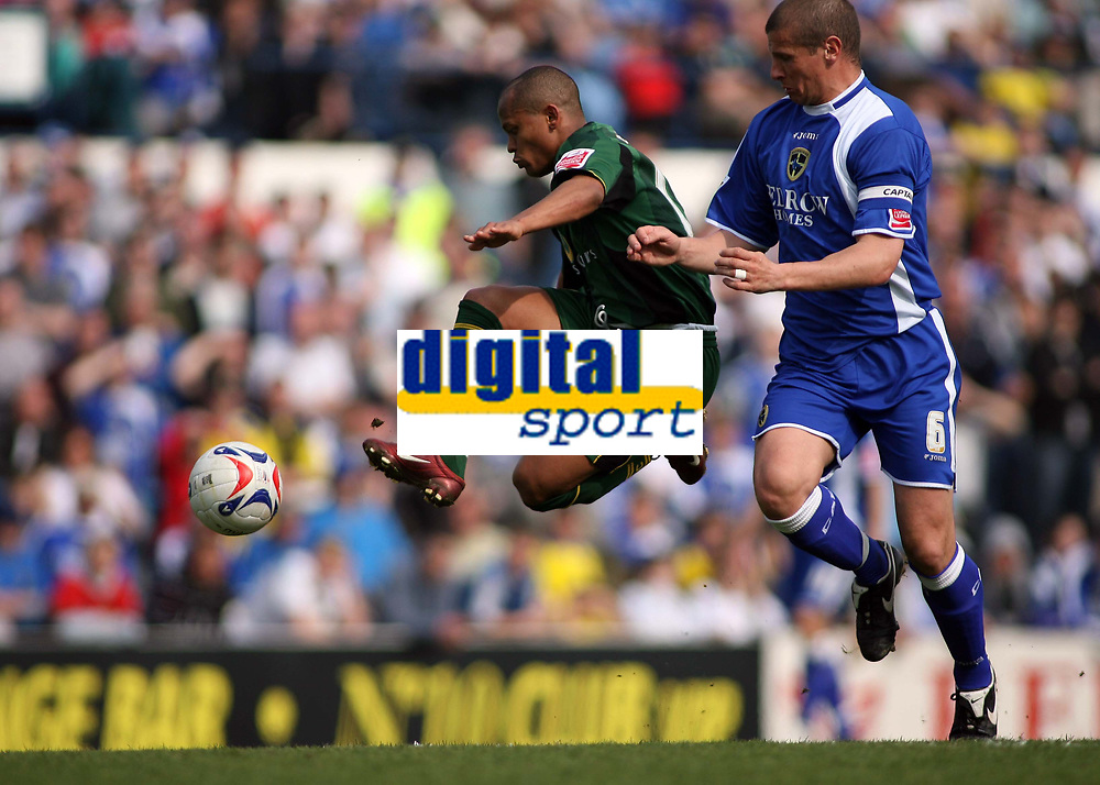 Rob Earnshaw, scorer of Norwich first goal on the attack
