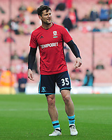 Football - 2016 / 2017 Premier League - Arsenal vs. Middlesbrough<br /> <br /> David Nugent of Middlesbrough at The Emirates.<br /> <br /> COLORSPORT/ANDREW COWIE