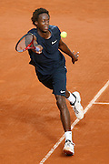 Roland Garros. Paris, France. June 2nd  2008..Gael MONFILS against Ivan LJUBICIC..Round of 16 (4th Round)...