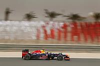 MOTORSPORT - F1 2012 -  BAHRAIN GRAND PRIX - SAKHIR (BHR) - 19 TO 22/04/2012 - PHOTO : FREDERIC LE FLOC'H / DPPI - <br /> WEBBER MARK (AUS) - RED BULL RENAULT RB8 - ACTION