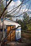 This vineyard yurt tries to integrate the yurt into the fantastic woodland surroundings, as well as keeping its environmental impact to a minimum allowing  guests to really enjoy their freedom to roam and enjoy the countryside.. The vineyard yurt itself is located in the tiny argriculture hamelt of Santa Maria de Olot, which is just a few miles from the well-known Medievel  town if Vic just an hour outside Barcelona.