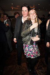 BLAISE PATRICK and GRACE PILKINGTON at a party following the premier of Boogie Woogie held at The Westbury Hotel, Conduit Street, London on 13th April 2010.