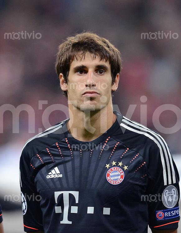 FUSSBALL   CHAMPIONS LEAGUE   SAISON 2012/2013   GRUPPENPHASE   FC Bayern Muenchen - FC Valencia                            19.09.2012 Javier Martinez (FC Bayern Muenchen)