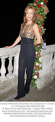 Actress AMANDA DONOHOE at a reception in London on 17th September 2002.PDH 248