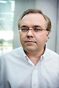 FRANKFURT, GERMANY - 03/07/2008 - SCIENCE, Prof Dr. Dr. Peter Mombaerts at the Max Planck Institute for Biophysics, Abt. Molekulare Neurogenetik..cfr. Belgian topscientist..PHOTO © Christophe VANDER EECKEN