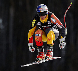 28.11.2012, Birds of Prey, USA, FIS Ski Alpin Weltcup, Abfahrts Training, Herren, im Bild Erik Guay (CAN) // Erik Guay (CAN) during Mens Downhill Training of FIS Ski Alpine World Cup at the Birds of .Prey, Beaver Creek, United States on 2012/11/28. EXPA Pictures © 2012, PhotoCredit: EXPA/ Erich Spiess