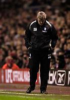 Photo: Jed Wee.<br />Liverpool v Birmingham City. Barclays Premiership. 01/02/2006.<br />Birmingham manager Steve Bruce.