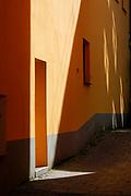 Facade of a Art Nouveau building, Riga, Latvia