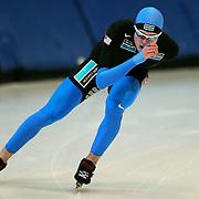 January 4, 2010 - Kearns, UT - Ryan Bedford makes practice laps at the Utah Olympic Oval.