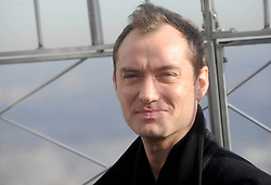 Jude Law is seen at The Empire State Building, New York, 14th November 2016