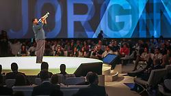 Jorginho do Trompete durante o VOX - The Joy of Sharing, evento que  pretende provocar reflexões sobre o futuro da comunicação a partir do compartilhamento de conteúdo e experiências. FOTO: Jefferson Bernardes/ Agência Preview