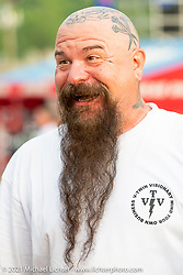 V-Twin Visionary's Jeff Holt at the Tennessee Motorcycles and Music Revival at Loretta Lynn's Ranch. Hurricane Mills, TN, USA. Saturday, May 22, 2021. Photography ©2021 Michael Lichter.