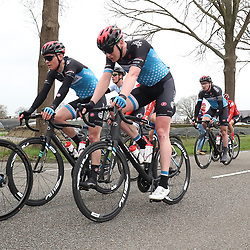 29-02-2020: Wielrennen: Ster van Zwolle: Zwolle<br />Justin Timmerman, Tijmen Eising, Coen Vermeltfoort