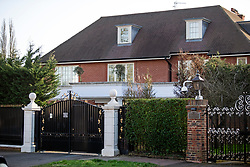 © Licensed to London News Pictures. 12/03/2020. London, UK. A property on The Bishops Avenue, Hampstead, North London, which is the home of Kazakhstan national Nurali Aliyev, which is the subject of an Unexplained Wealth Order (UWO). The National Crime Agency suspects all three of the mega properties in London were bought with riches embezzled by Mr Aliyev's now dead father.. Photo credit: Ben Cawthra/LNP