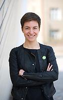 DEU, Deutschland, Germany, Berlin, 29.03.2014: <br />Portrait Ska (Franziska) Keller, MdEP, BÜNDNIS 90/DIE GRÜNEN, Listenplatz drei für die Europawahl 2014.